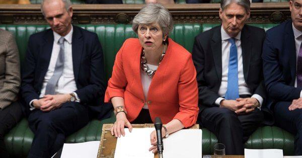Brexit. Porażka Theresy May. Brytyjska Izba Gmin po raz odrzuca umowę wyjścia Wielkiej Brytanii z Unii Europejskiej