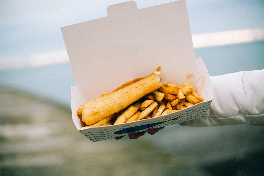 Najlepsze fish-and-chips na mieście