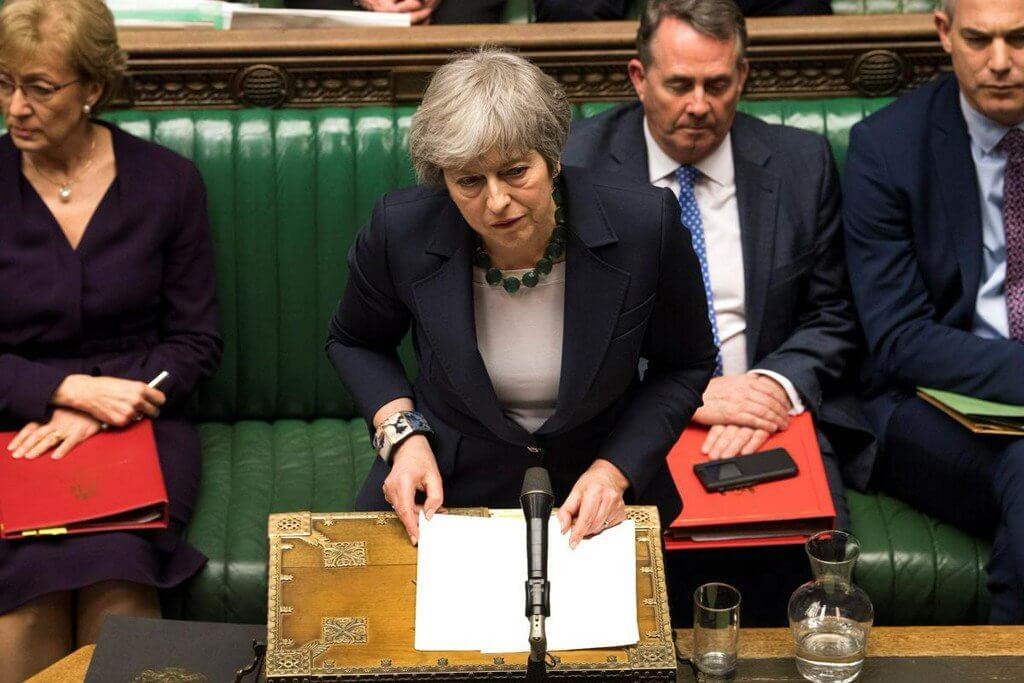 Brytyjski parlament opowiedział się za opóźnieniem brexitu